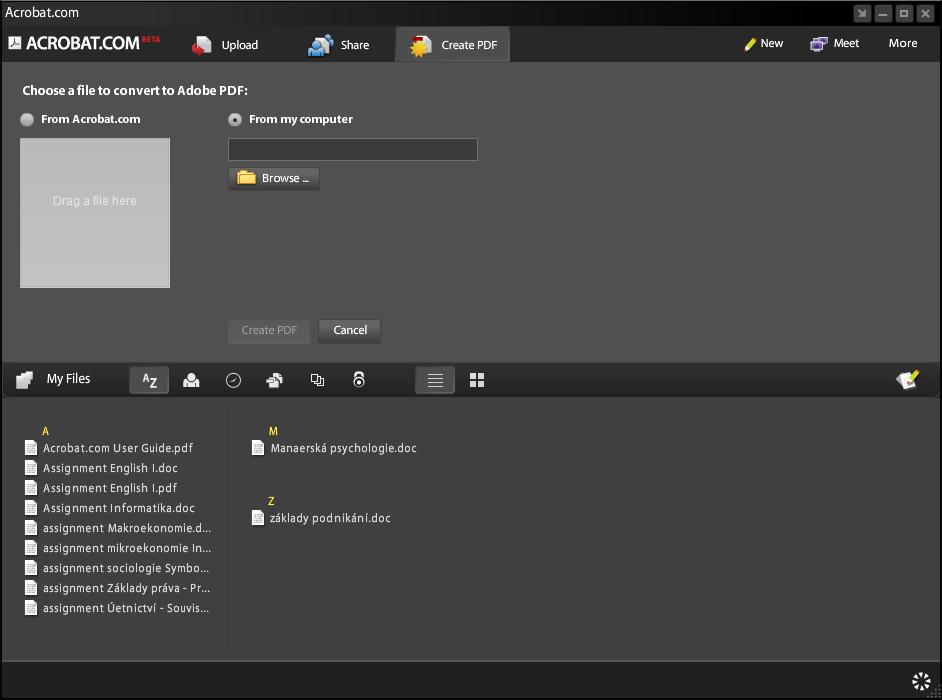 Acrobat com: free online PDF converter | Maxiorel com