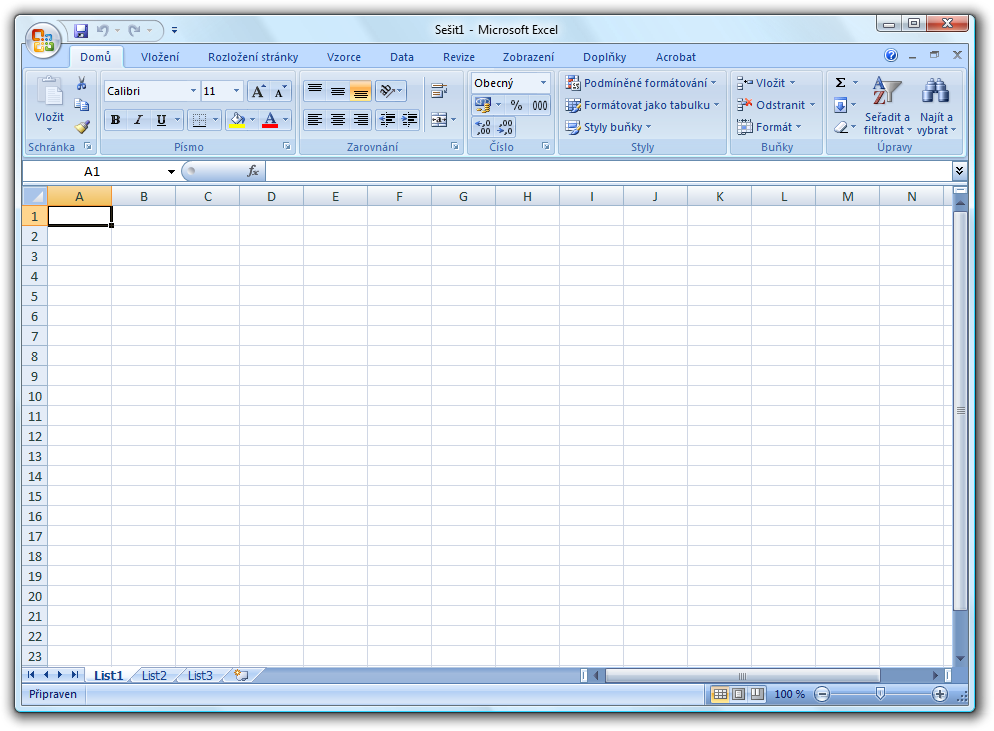 an Excel 2007 Screenshot