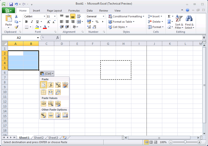 First glimpse of MS Office 2010 - Excel 2010 | Maxiorel com