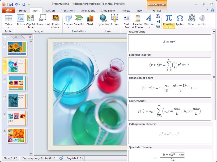 First glimpse of MS Office 2010 – PowerPoint 2010 | Maxiorel.com