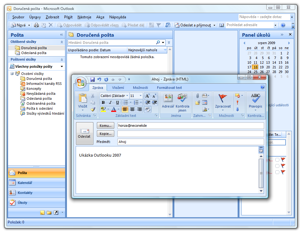 Outlook office 2010