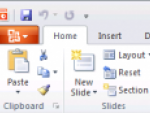 First glimpse of MS Office 2010 – PowerPoint 2010