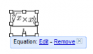 Equation editor online? With Google Docs.